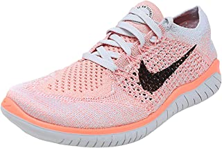 Womens Free Rn Flyknit 2018 Low Top Lace Up Running, Size...
