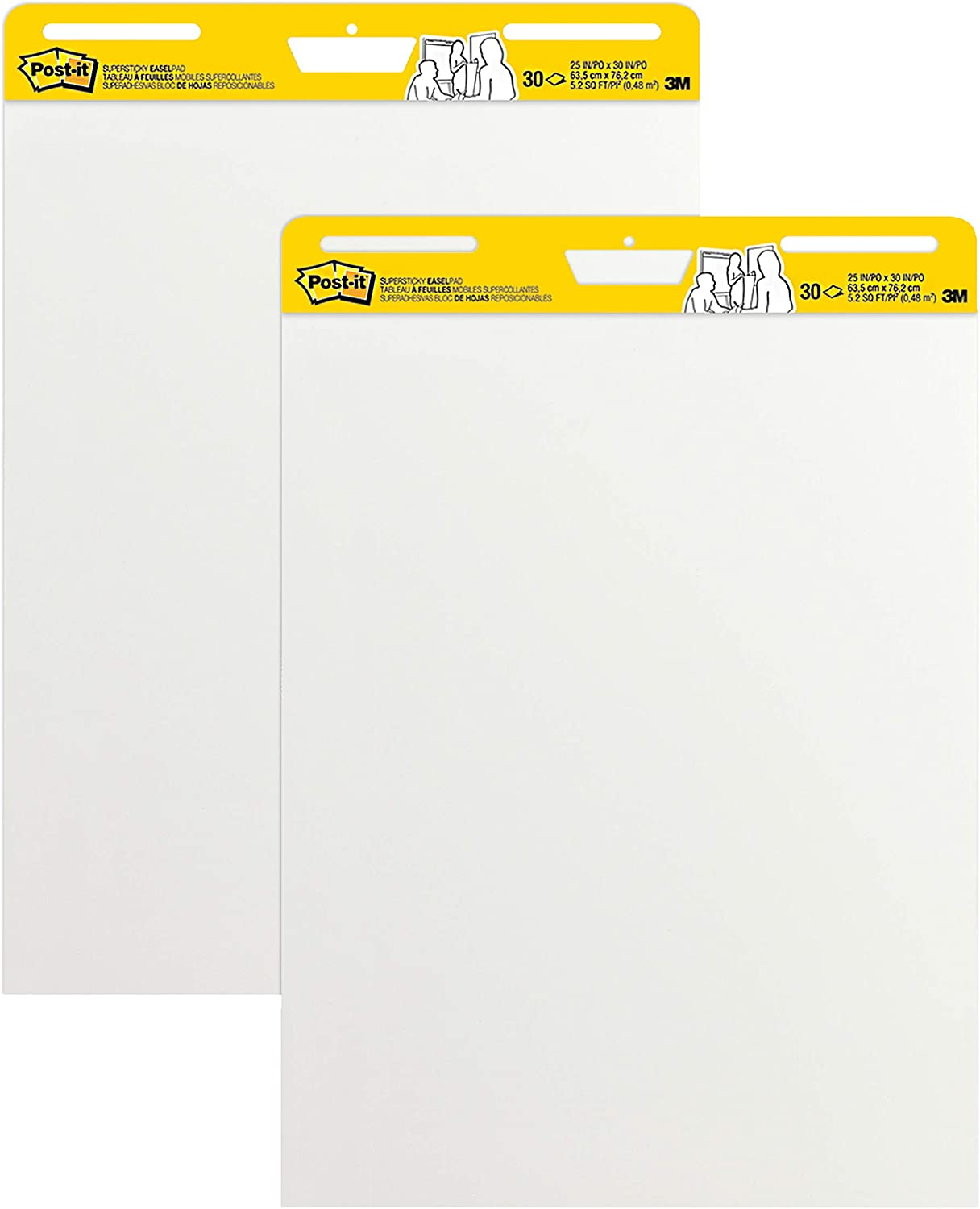 Post-it Super Sticky Easel Pad 25 Sheets White Excellence Colorado Springs Mall in x 30