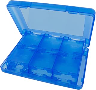 StyleZ 28 in 1 Game Hard Card Case Holder Cartridge Box for Nintendo DS 3DS XL LL (Blue)
