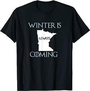 Best winter is coming minnesota shirt Reviews
