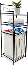 Sorbus Bathroom Tower Hamper Organizer - Features Tilt Out Laundry Hamper and 2-Tier Storage Shelves - Great for Bathroom,...