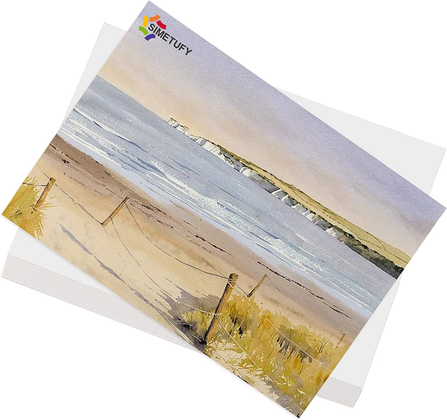 Superise 45 Sheets Painting Shipping included Paper Watercolor Tulsa Mall 8K 15.35