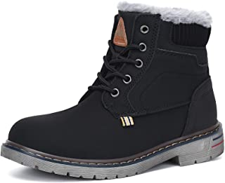Kids Snow Boots Water Resistant Warm Inside Boys Girls Hiking Boots Cold Weather Non Slip Winter Boot (Toddler/Little Kid/...