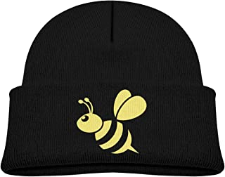 Keviewly Manchester Bee Baby Girl Warm Beanies Winter Hats Knit Caps Black