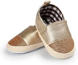 BENHERO Infant Baby Boys Girls Sneaker PU Leather Slip On Soft Sole Moccasins Toddler..