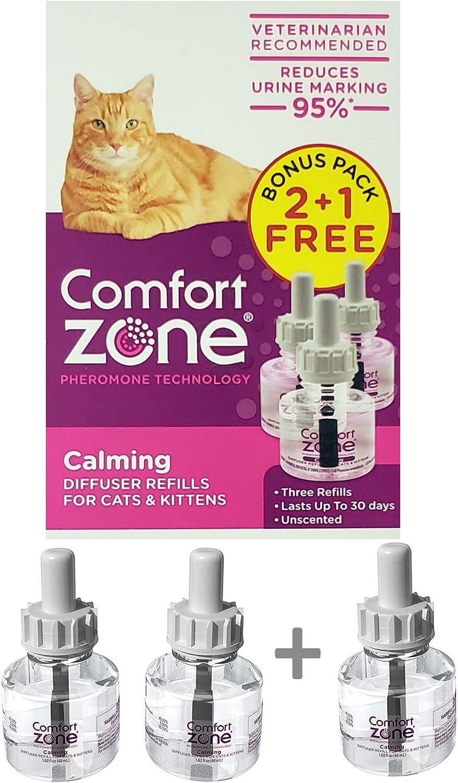 Comfort Zone Calming Refills for Cat Calming Bonus Pack