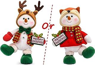 YING LING CRAFTS Christmas Snowman Doll Decor Snowmen Stuffed Animal Plush Decoration Christmas Holiday for Kids Gifts Boy...