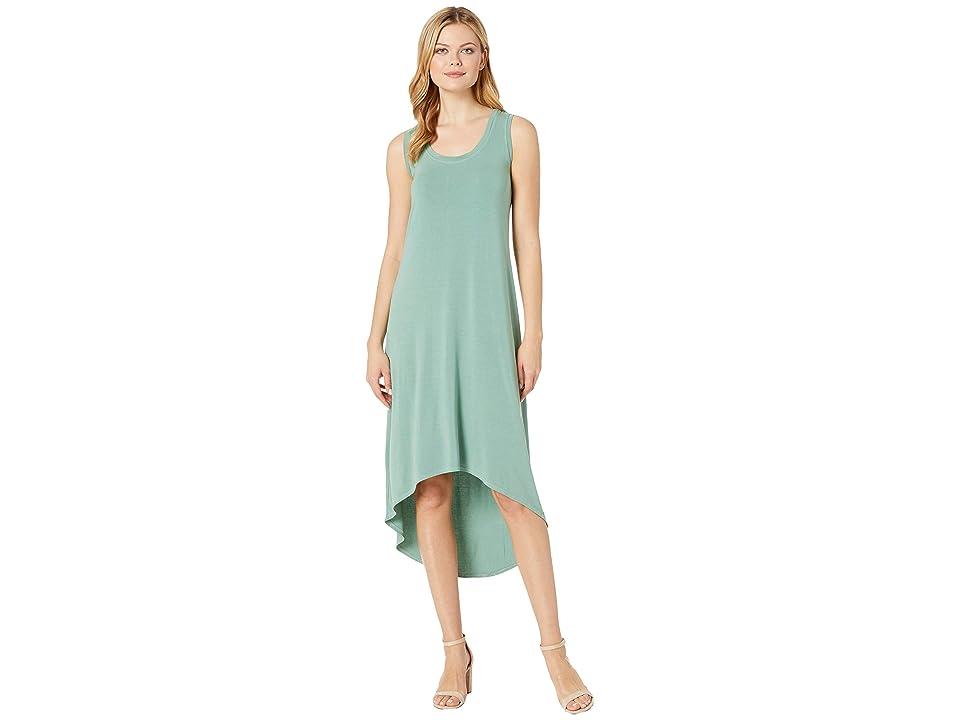 Fresh Produce Hilo Staple Maxi Dress (Lagoon Green) Women