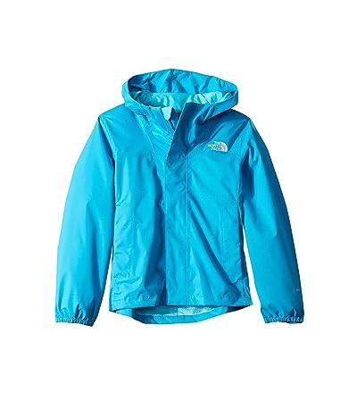 The North Face Kids Resolve Reflective Jacket (Little Kids/Big Kids) (Acoustic Blue) Girl
