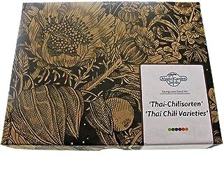 Thai Chilis - Samen-Geschenkset mit 3 superscharfen asiatische Sorten für die Thai-Küche
