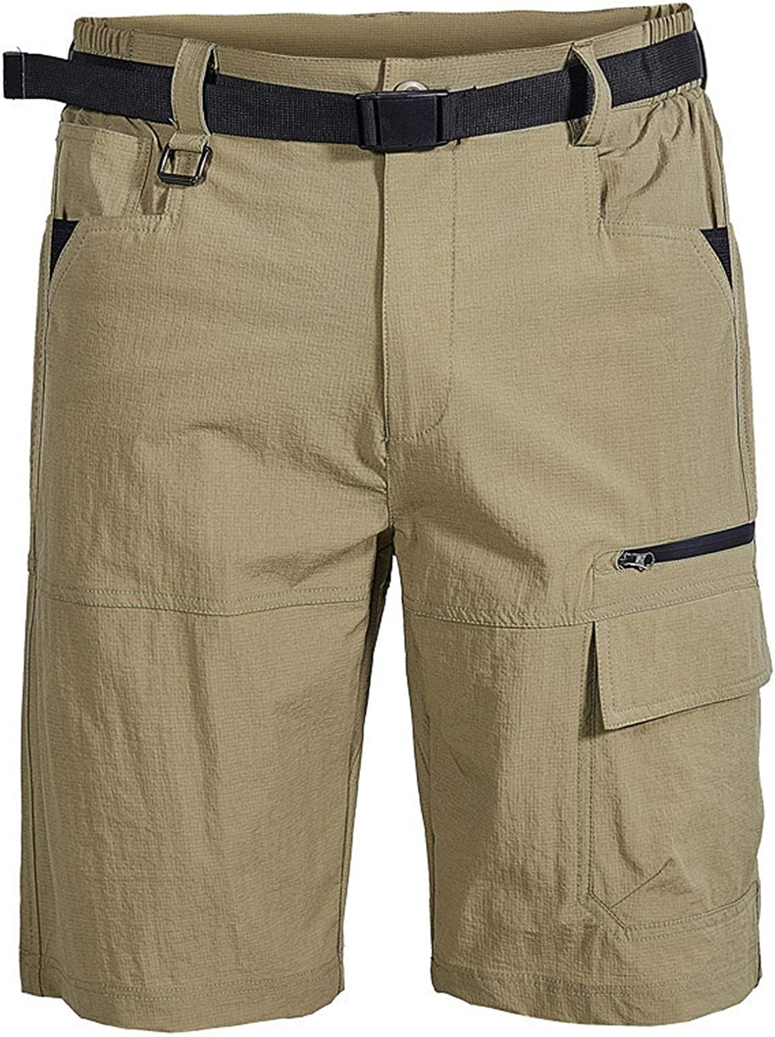 KIMOH Men's Hiking Quick-Dry Outdoor Cargo Shorts Loose Fitness