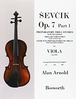 Viola Studies Op.7 Part1: Preparatory Trill Studie
