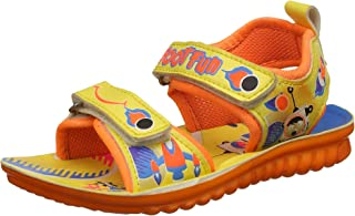 Footfun (from Liberty) Unisex Dollitte-2 Yellow Sandals and Floaters - 11 Kids UK/India (29 EU)