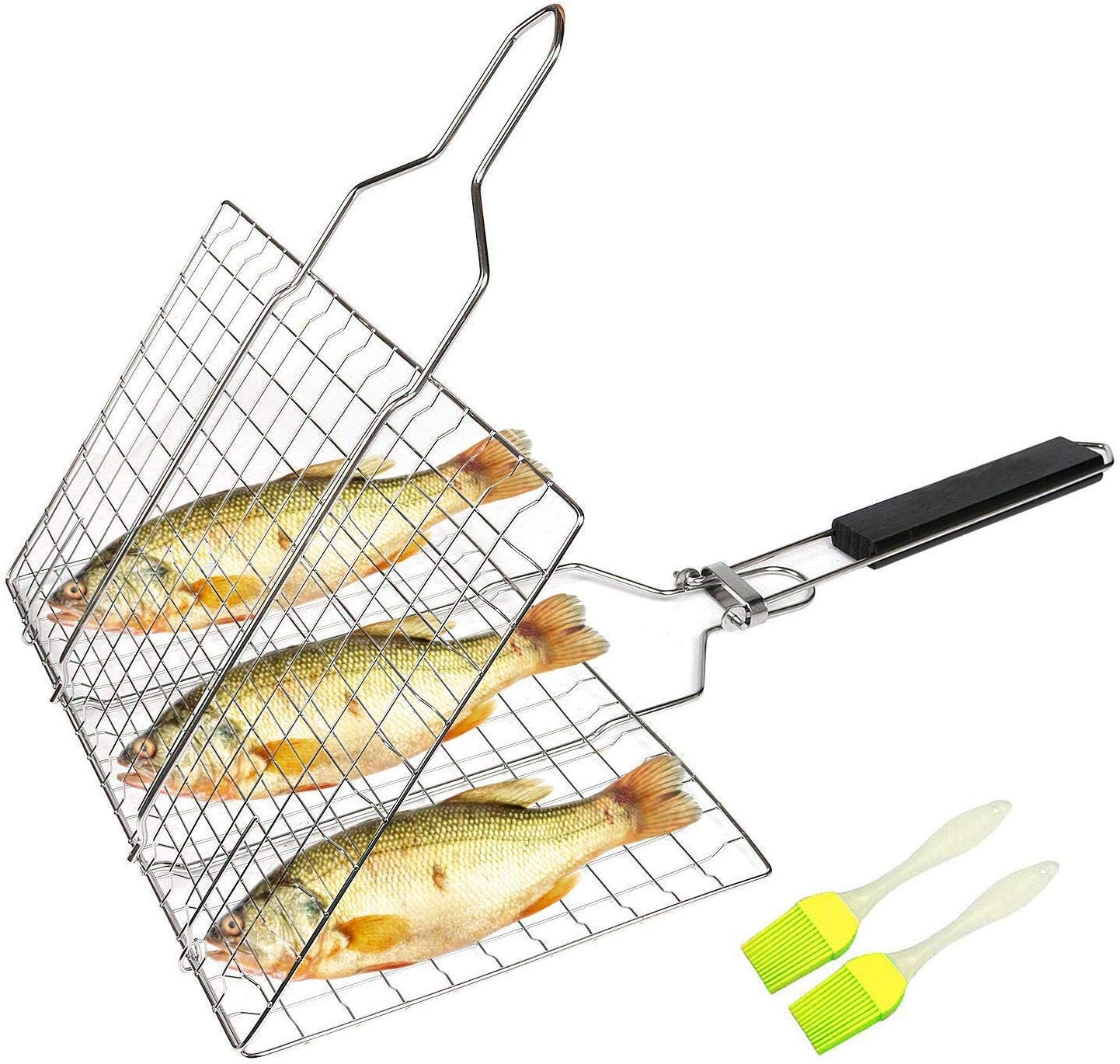Ranking TOP18 Aleath Portable Grill Basket Stainless Gr BBQ Oakland Mall Accessories Steel