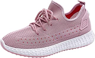 Sneakers for Women Wide Width Clearance,Women's Leisure Breathable Mesh Outdoor Fitness Running Sport Sneakers Shoes