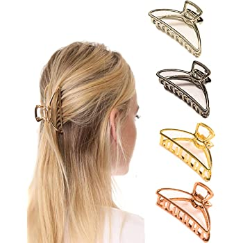 Para mujeres damas niñas agarre antideslizante gran garra de Cabello Clip Pinza Accesorios para el cabello Fo