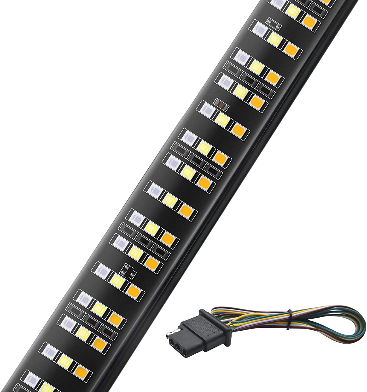 """Mictuning 60"""" Triple 504 LEDs Tailgate Light Bar"""