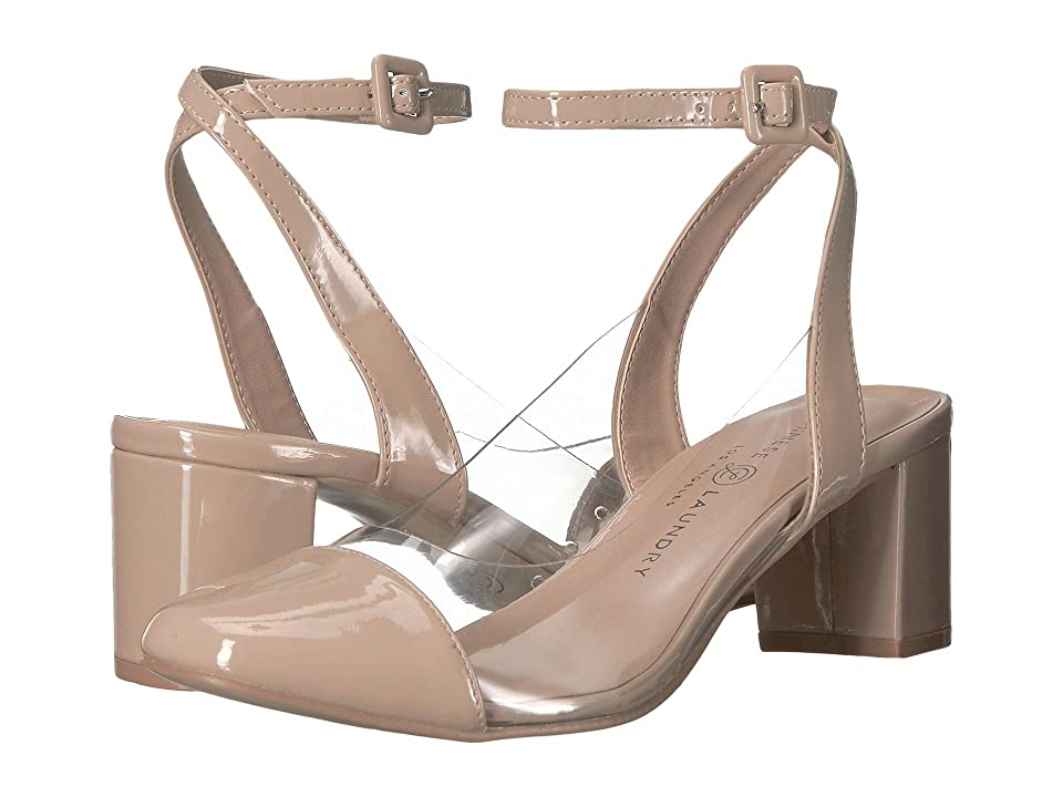 Chinese Laundry Linnie Vinyl (Nude/Clear Pate) Women