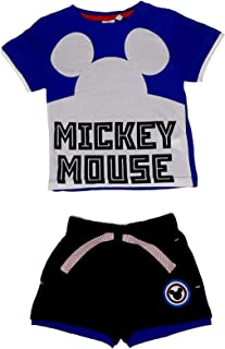 SUN CITY Juego de camiseta y pantalones cortos de Mickey Mouse 1297