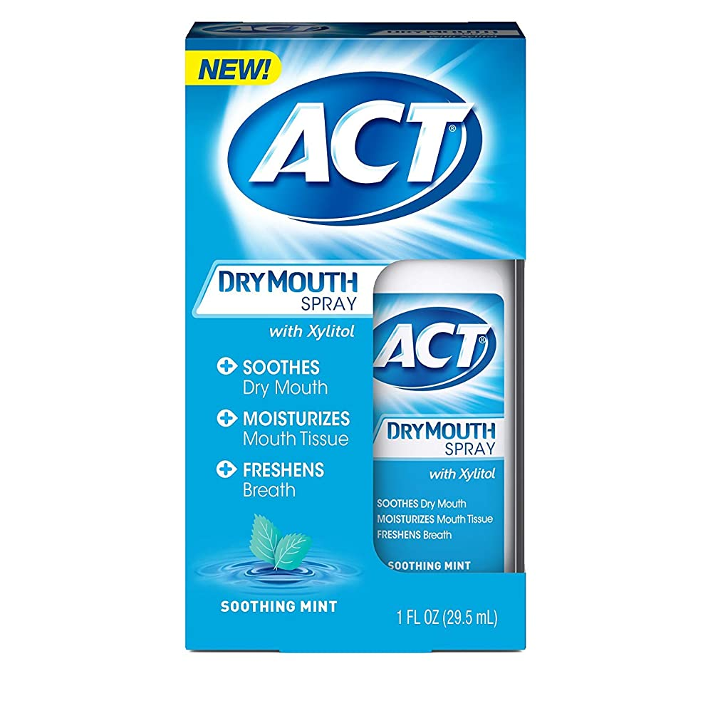 ACT Dry Mouth Spray 1 oz (Pack of 3)