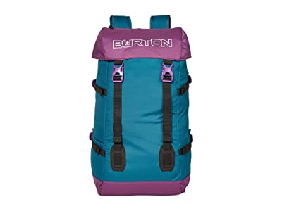 Burton Tinder 2.0 30L Solution Dyed Backpack (Deep Lake Teal) Backpack Bags