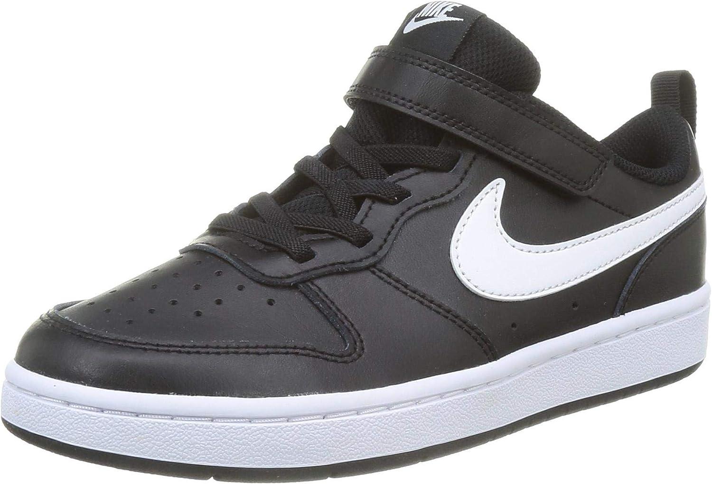 Nike Court Borough Low New life 2 Brand new Nera Bambino Sneaker BQ5451-002