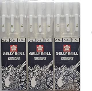 Best gelly roll white gel pen Reviews