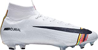 Mercurial Superfly 360 Elite CR7 Level Up FG Soccer Cleats (M12W135, Pure Platinum)