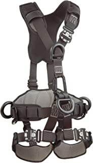 3M DBI-SALA ExoFit NEX 1113371 Full Body Black Out Rope Access/Rescue Harness, 5 AlumD-Rings, Belt w/ Pad/Side D-Rings, Locking QC Leg Straps, Medium, Blue/Grey