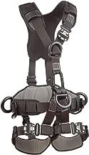 3M DBI-SALA ExoFit NEX 1113371 Full Body Black Out Rope Access/Rescue Harness, 5 AlumD-Rings, Belt w/ Pad/Side D-Rings, Locking QC Leg Straps, Medium, Blue/Grey