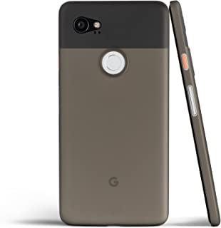 totallee Pixel 2 XL Case, Thinnest Cover Premium Ultra Thin Light Slim Minimal Anti-Scratch Protective - for Google Pixel 2XL (Grey)