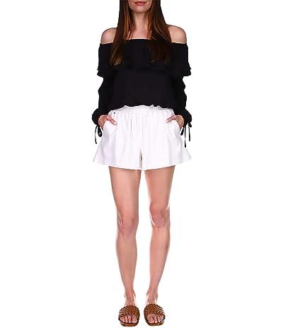 MICHAEL Michael Kors Linen Pull-On Shorts