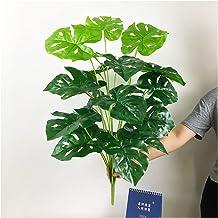 JIAN 65 cm 18 hoofden grote tropische monstera planten kunstmatige schildpad boom verlaat nep palm planten boeket plastic ...