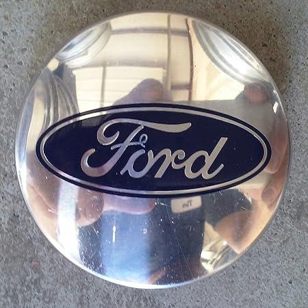 1994-1999 Ford Taurus Wheel Center Hub Cap Silver Machined F4DC-1A096-AB #BX39