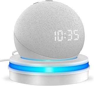Cocoda Support de Table pour Echo Dot (4e Génération), Support de Bureau Intelligent avec Gestion du Cordon Intégré & Guid...