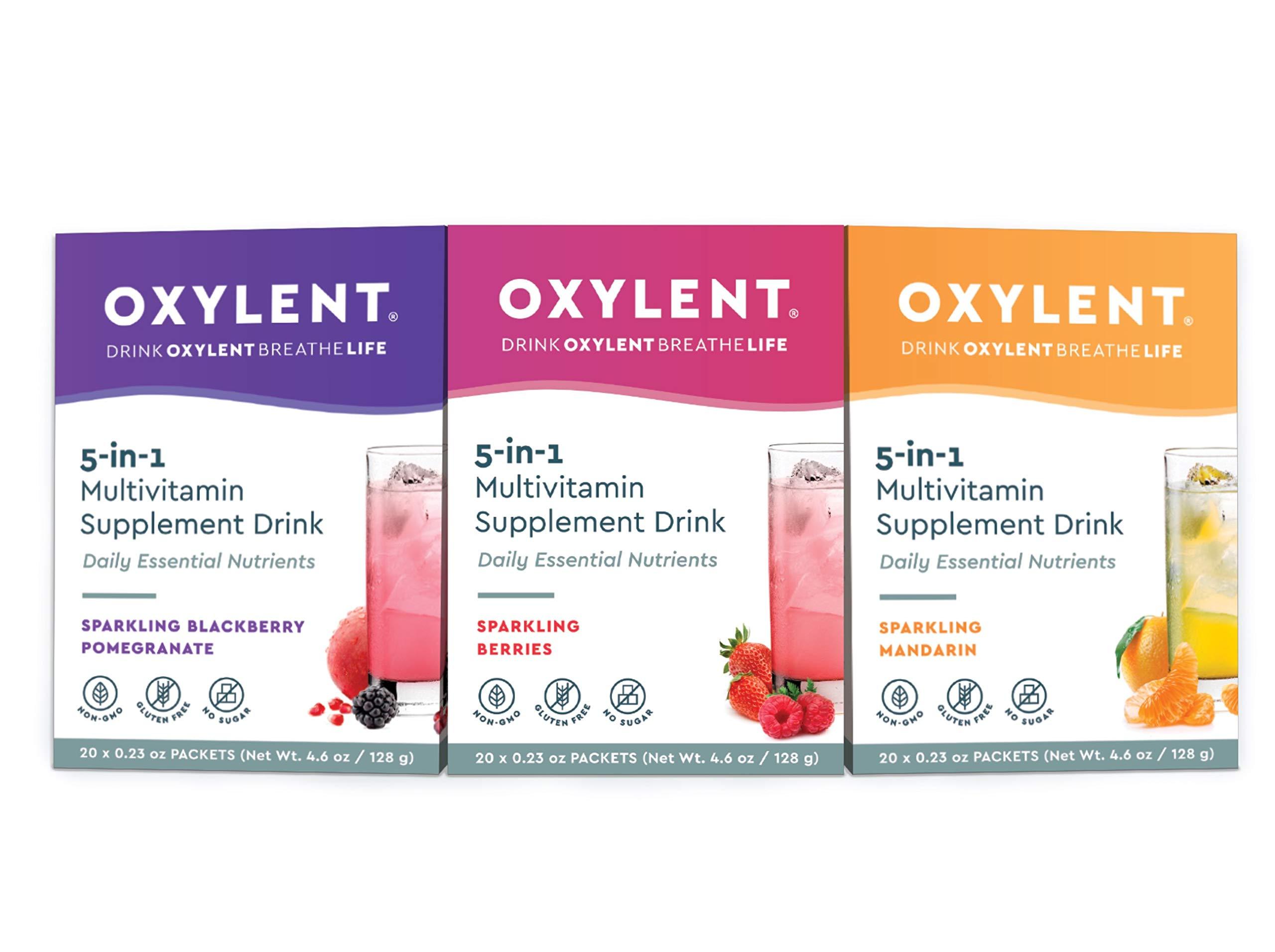 Oxylent Multivitamin Supplement Drink Effervescent
