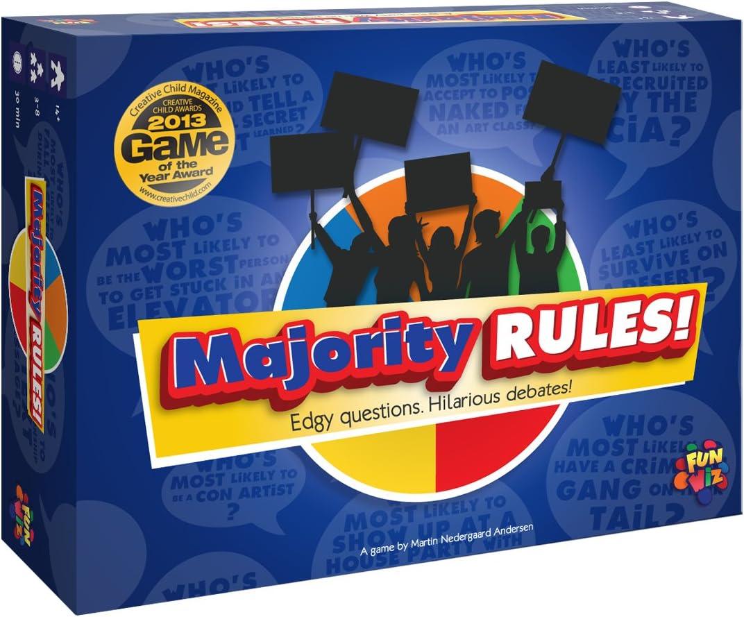Majority Rules Game Card 高級品 直営店