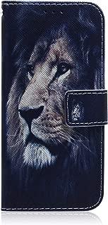 Lomogo Leather Wallet Case with Kickstand Card Holder Shockproof Flip Case Cover for Motorola Moto G7 Moto G7 G7 Plus Case LOTXI140347#7 G7Plus