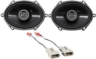 Amazon Com 6 X 8 Inch Speakers Car Audio Electronics