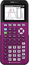 $124 » Texas Instruments TI-84 Plus CE Plum Graphing Calculator (Renewed)