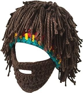 Windproof Ski Mask Warm Knitted Beanie Hat Cap