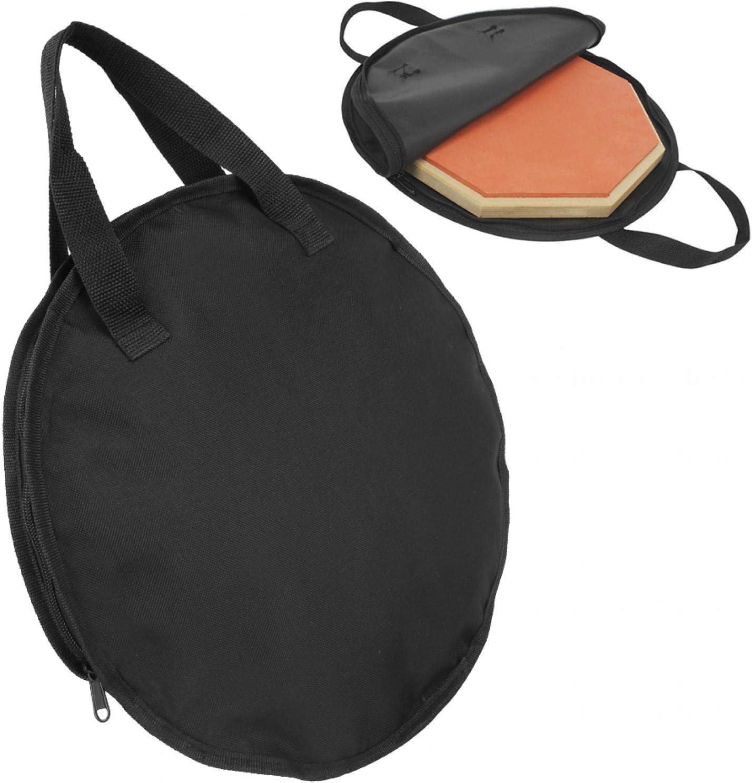 25% OFF Qqmora Drum Pad Storage Bag Beginner Houston Mall Trai Instrument for Musical