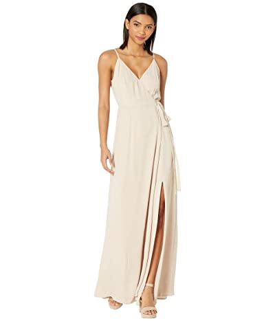 WAYF Angelina Gown (Champagne) Women
