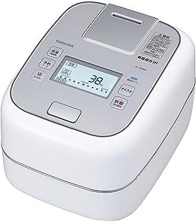 東芝 炊飯器 5.5合 真空圧力IHジャー炊飯器 保温40時間 合わせ炊き グランホワイト RC-10ZWM-W