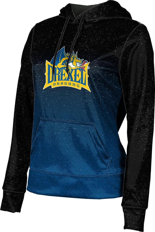 ProSphere Drexel University Girls' Pullover Hoodie, School Spirit Sweatshirt (Ombre)