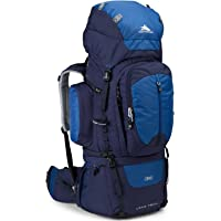 High Sierra Long Trail 90L Top Load Internal Frame Backpack (True Navy/Royal/True Navy)