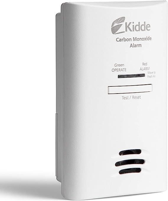 Kidde 3153 Carbon Monoxide Detector Alarm   AC Powered with Battery Back-up   Model KN-COB-DP2