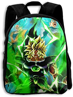 2019 US Back-to-school New Design Kid Bacpack Dragon Ball Super Goku&Vegeta VS Broly Customized Children's Bags