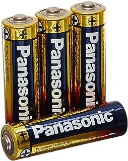 Panasonic Alkaline Plus Power AA Batteries (4-Pack)