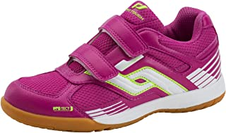 Pink//green//white Pro Touch Ind shoe courtplayer Velcro Jr
